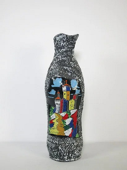 Hand painted San Marino vase - Italy