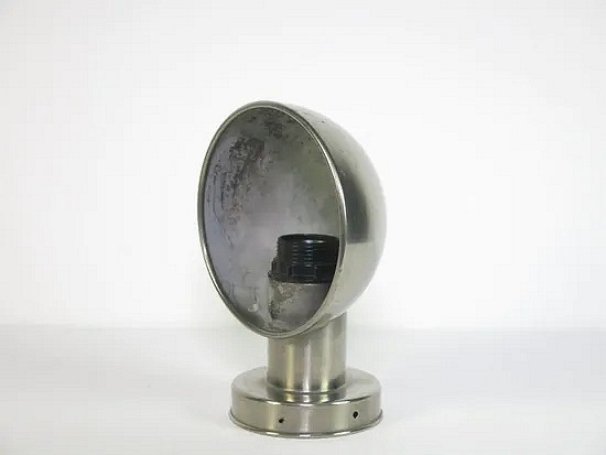 Gispen model no 4016 nickel-plated wall lamp - W.H. Gispen