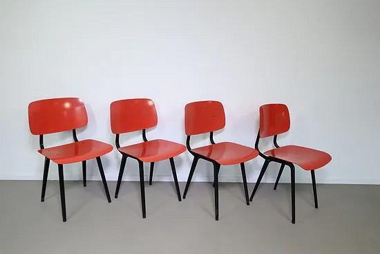Revolt chairs - Friso Kramer