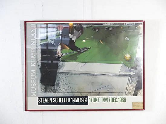 Exhibition poster Steven Scheffer