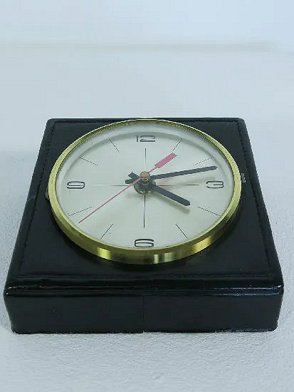 Leather Kienzle clock