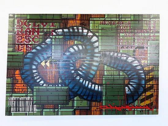 Graffiti art - Tom Spilliaert