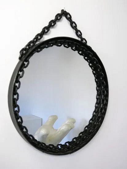 Brutalist mirror - D767