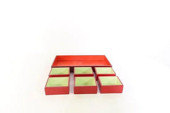 Handmade storage trays