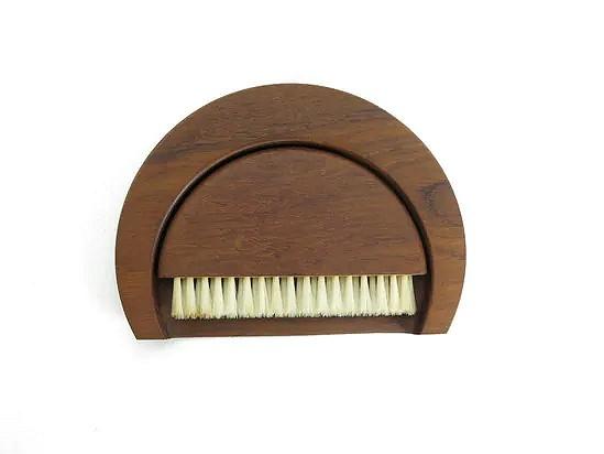 Teak crumb brush and tray - Kay Bojesen