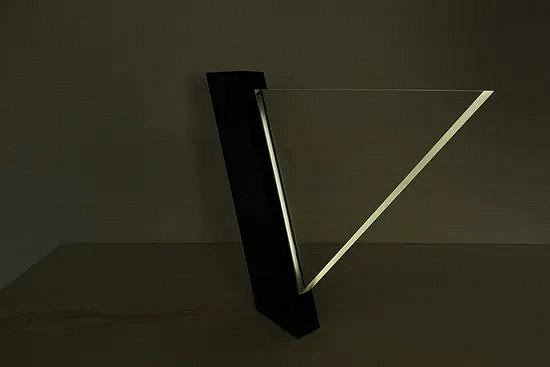 Lucite Indoor table lamp - Vittorio - Peter Schreuder Goedheijt