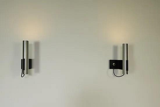 Aluminum mid-century modern wall lamps - Indoor