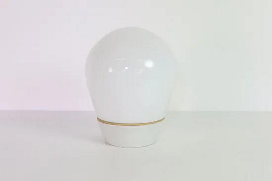 Lindner Leuchten glass ceiling lamp - Wilhelm Wagenfeld