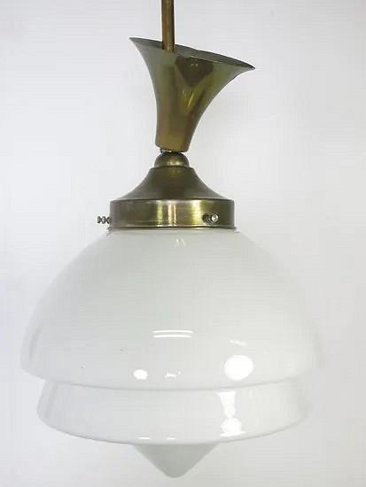 Antique Gispen 1930's pendant lamp - W.H. Gispen