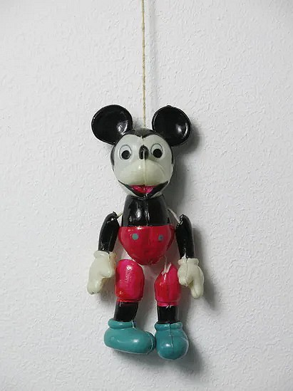 US-zone celluloid Mickey Mouse