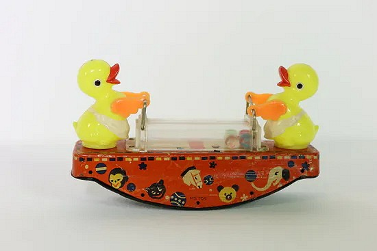 Wind-up Duck swing- China MS 759
