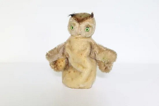 Hand puppet owl Wittie - Steiff