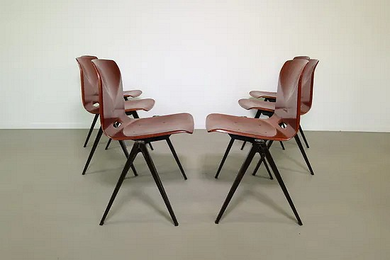 Pagholz industrial dining chairs - Galvanitas