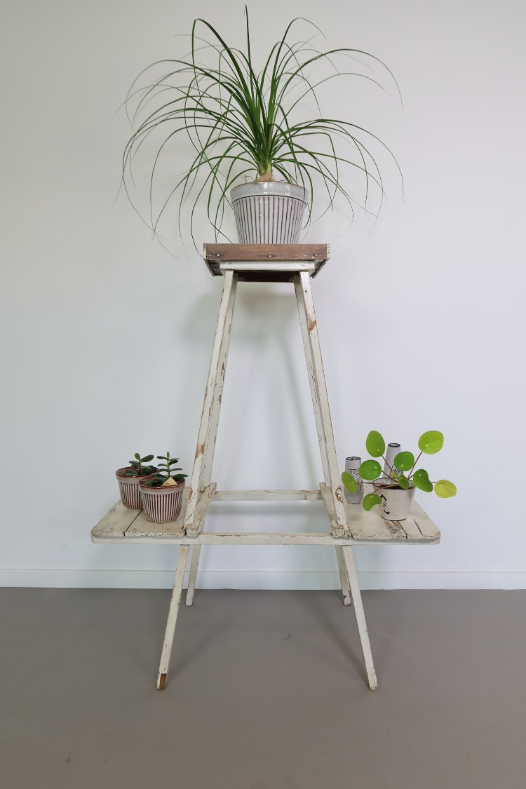 Wooden Hungarian plant stand