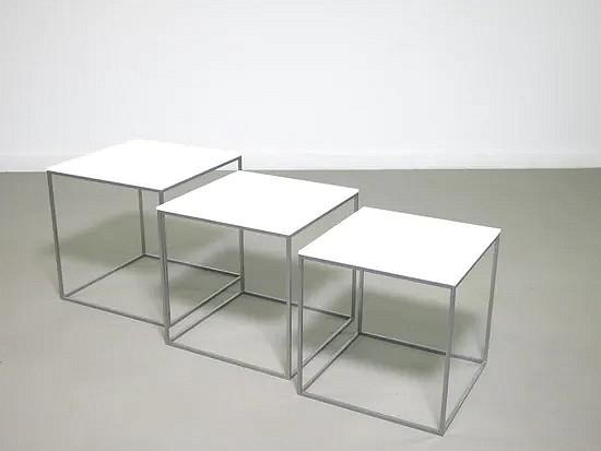 PK 71 nesting tables - Poul Kjaerholm